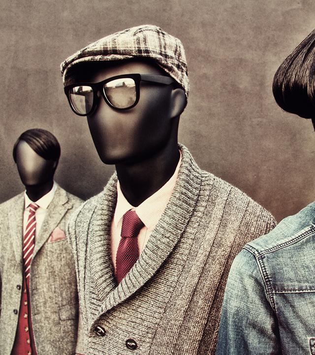 Campagnefotografie voor de Casual Abstract Collectie van Hans Boodt Mannequins.